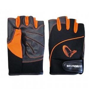 Manusi Pro-Tec cu degete taiate (mar XL), marca Savage Gear