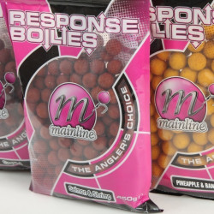 Boilies Response 15mm Ananas / Banana 450g MainLine