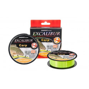 Fir EnergoTeam Excalibur Carp Fluo Yellow 300m