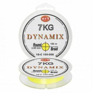 Fir textil Round Dynamix galben 150m WFT