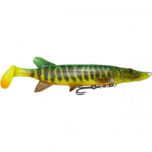 Vobler Swimbait Savage Gear 4D Line Thru Pike SS03, 20cm, 65g