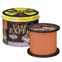 Fir Carp Expert UV Fluo- Orange 1000m Cutie Metalica