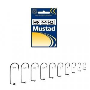 Carlig negru nichel pentru twister Mustad -100buc/plic (M.32629BLN.06)