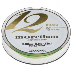 Fir Morethan 12Braid Verde 135m Daiwa