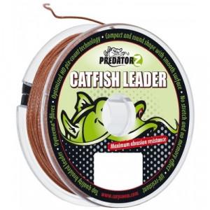 Fir textil Predator Z Catfish Leader Brown 1.00mm / 110kg / 15m Carp Zoom