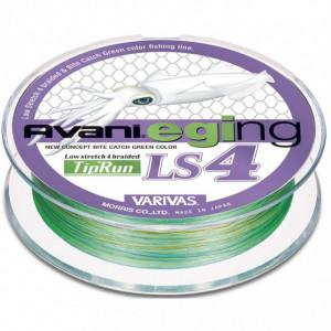 Fir Textil Varivas Avani Eging LS4 PE Tip Run, verde, 200m