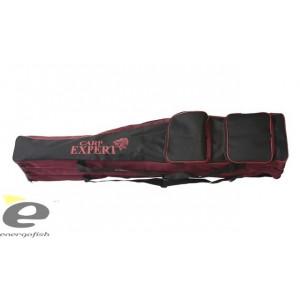 Husa Lansete Carp Expert 140 cm pentru 3 lansete