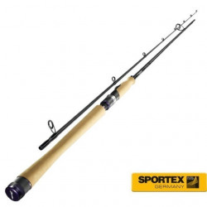 Lanseta Carat Spin 2.40m / 11-28g / 2 tronsoane Sportex