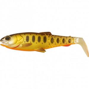 Naluca Savage Gear Craft Cannibal Paddletail, Olive Hot Orange, 6.5cm, 4g, 4bc