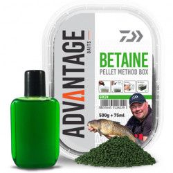 Pelete Daiwa Method Green Betain 500g + aditiv booster 75ml