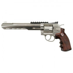 "Pistol airsoft CO2 Ruger SuperHawk 8"" Silver  / 8 bb / 4J Umarex"