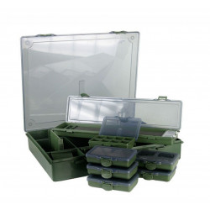 Set 8 cutii multifunctionale Carp Pro, 36.5x29.5x6.5cm