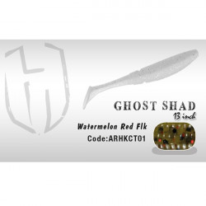 Shad Ghost 13cm Watermelon Red Flk Herakles
