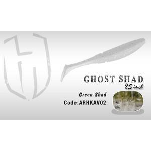 Shad Ghost 8.5cm Green Shad  Herakles