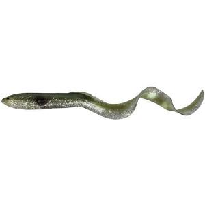 Shad Soft Bait Real EEL 15cm/12g Green Silver 3buc/plic SavageGear