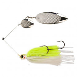 Spinnerbait Biwaa Dogon, White Chart, 21g