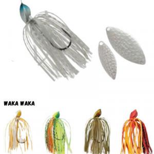 Spinnerbait Herakles Flatter, Waka Waka, 28g