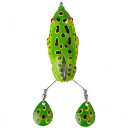 Spinnerbait Kick Frog 15cm / 22g F verde Savage Gear
