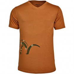 Tricou Logo V Orange Blaser