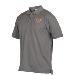 Tricou polo gri Savage Gear