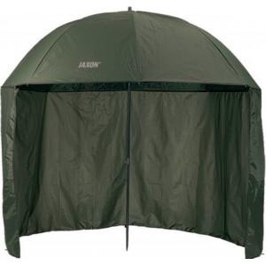 Umbrela PVC 150C Jaxon cu parasolar, 3m