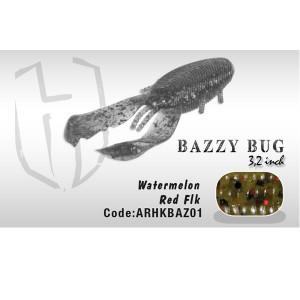 "Vobler Bazzy Bug 3.2"" 8cm Watermelon Red Flakes Herakles"