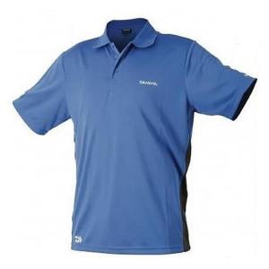 Tricou Polo Albastru  Daiwa