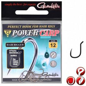 Carlige crap Power Hair Rigger 10buc/plic Gamakatsu