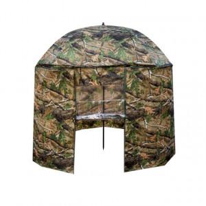 Umbrela EnergoTeam cu parasolar, camuflaj, 250x170x210cm