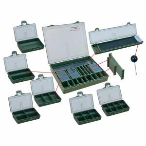 Cutie pescar Carp box 001 / 365x300x55 mm Baracuda