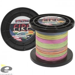 Fir Carbon X Fire, multicolor, diametrul 0,10mm, L- 300m