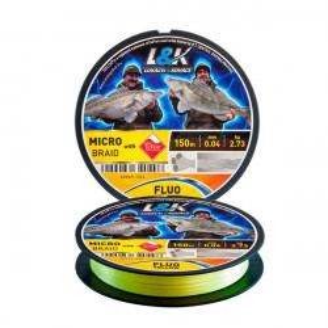 Fir galben 150m L&K Micro Braid Energofish