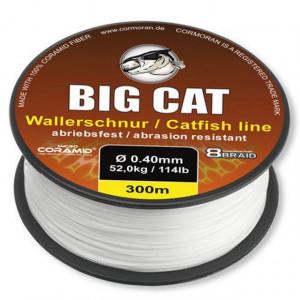 Fir pentru somn Big Cat 8XBRAID alb 0,50mm / 68kg / 300m Cormoran