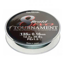 Fir textil Daiwa Tournament X8 Evo Dark Green 300m