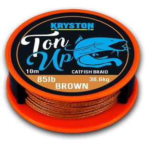Fir Textil Ton Up / Brown / 10m / 85lbs Kryston