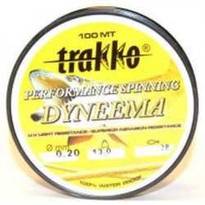 Fir Textil Trakko Dyneema Performance, verde fluo, 100 m
