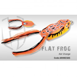 Flat Frog Hot Orange Herakles