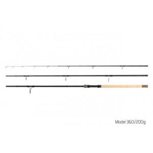 Lanseta Delphin River Trophy Feeder X-TRA, 3.60m, 200g, 3+4buc