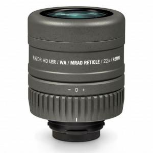 Ocular Vortex reticul MRAD luneta terestra Razor HD 27-60x85