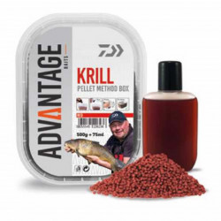 Pelete Daiwa Method Krill 500g + aditiv booster 75ml