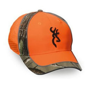 Sapca portocaliu/camuflaj Blaze Browning