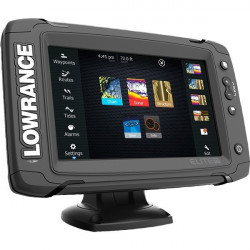 Sonar Lowrance Elite-9 Ti Total Scan Chirp + Structure Scan + Chartplotter