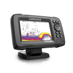 Sonar Lowrance HOOK Reveal 5, traductor 83/200 HDI CHIRP Multifunctional, Chartploter