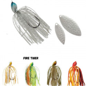 Spinnerbait Herakles Flatter, Fire Tiger, 28g