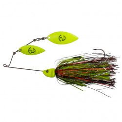 Spinnerbait NR.4 / 42g yellow Silver Savage Gear