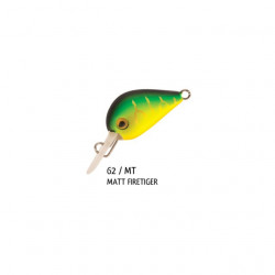 Vobler Pro Hot Buzz Sinking Matt Firetiger 2.5cm, 3g Rapture