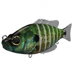Vobler Swimbait Seven Section Blue Gill 10cm Biwaa