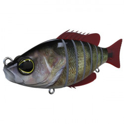 Vobler Swimbait Seven Section Real Perch 10cm Biwaa