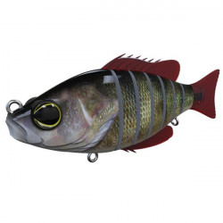 Vobler Swimbait Seven Section Real Perch 15cm / 60g Biwaa