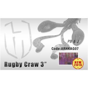 "Grub Rugby Craw 3"" 7.6cm PB & J Herakles"